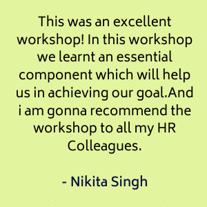 People venture recruitment workshop testimonial