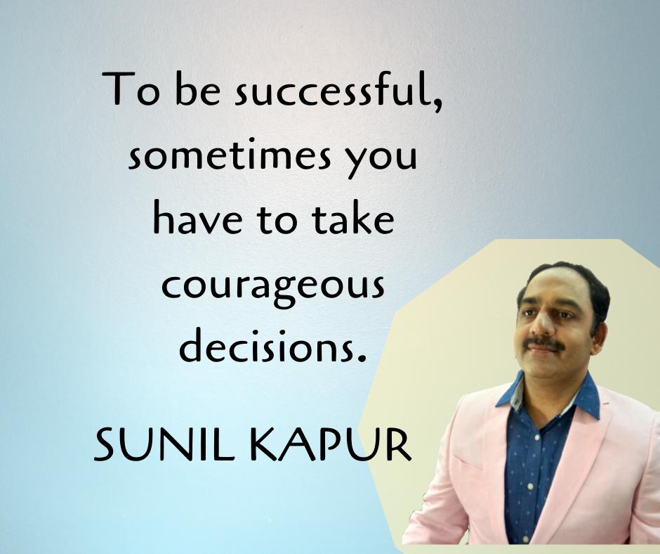 success quotes sunil kapur