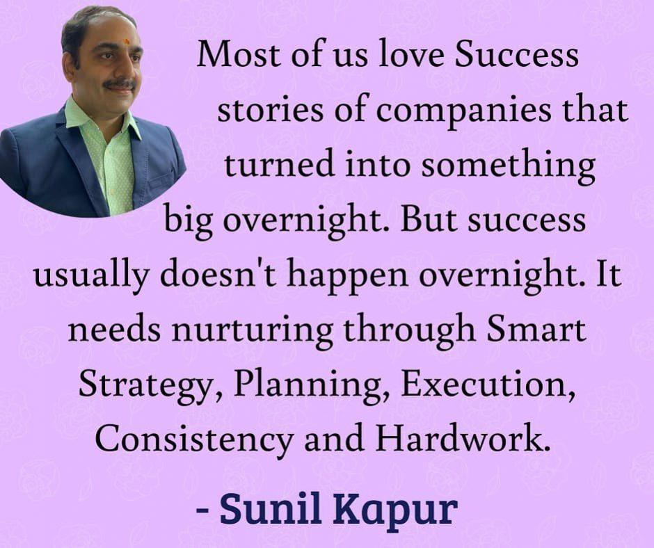 sunil kapur inspirational quotes