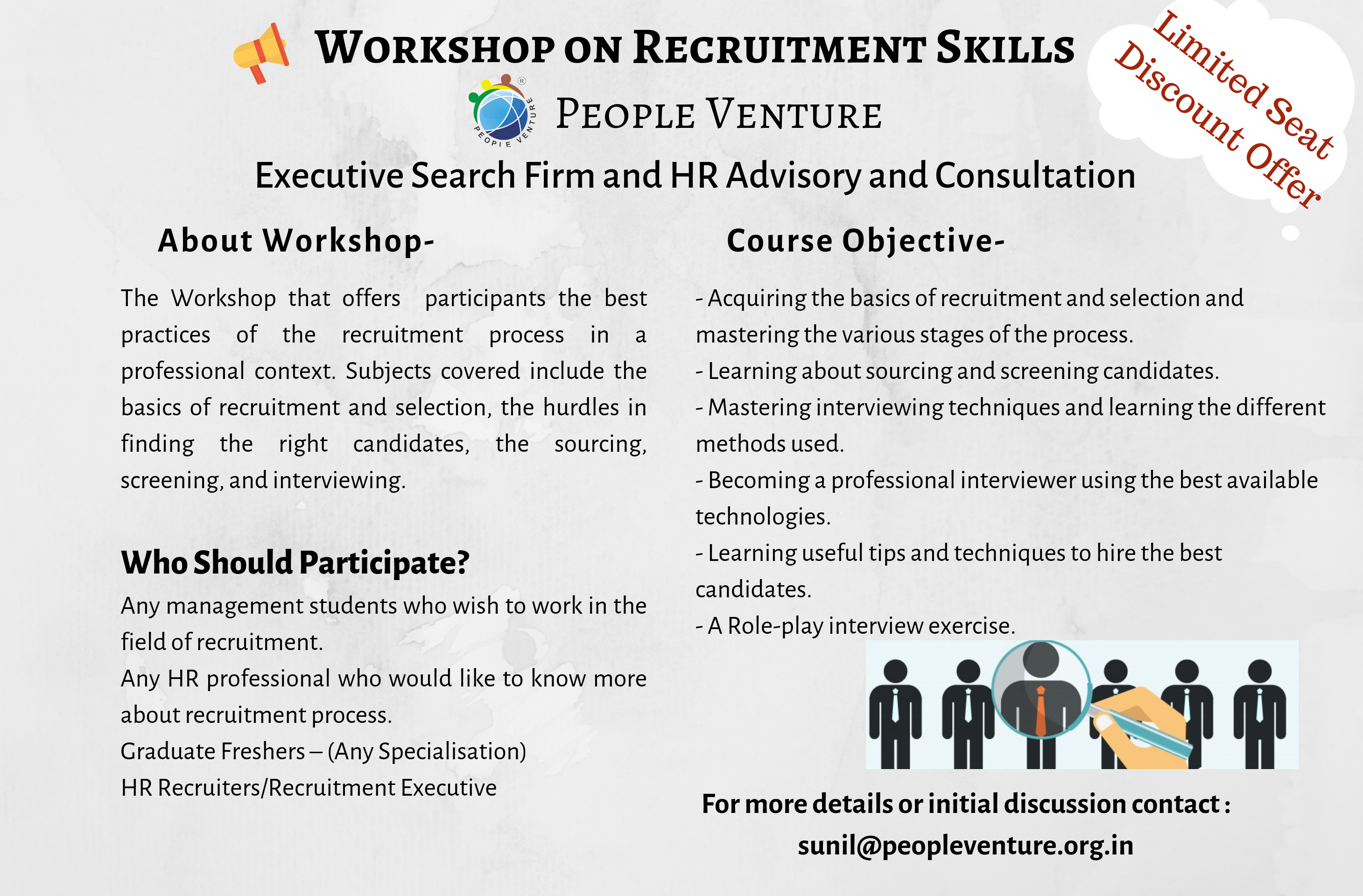 Recruitment skills