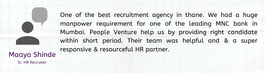 Recruitment agency client testimonial