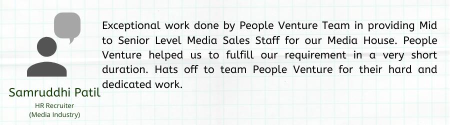 Employment Agency service client testimonial