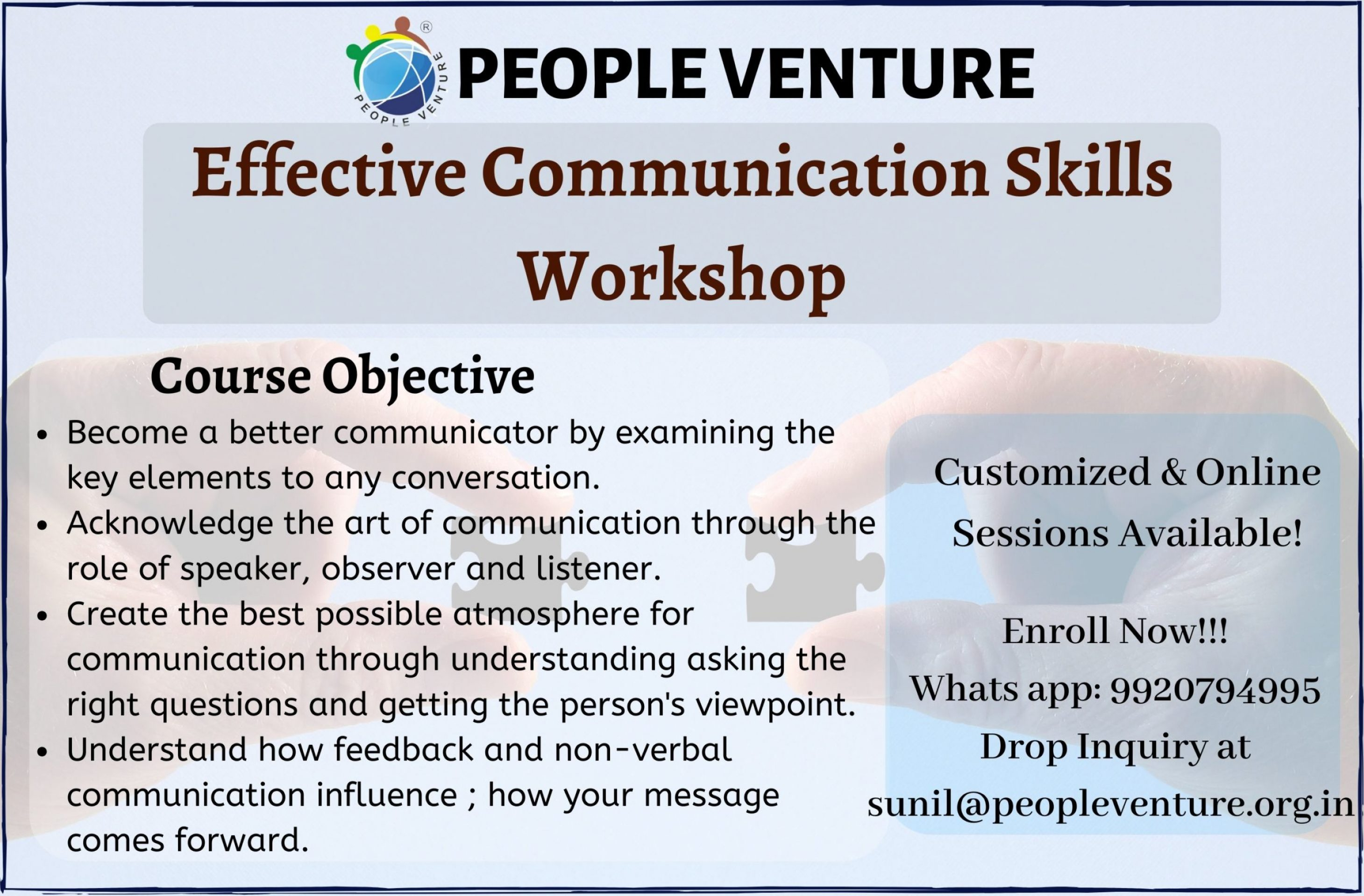 Effective Communication workshop in thane