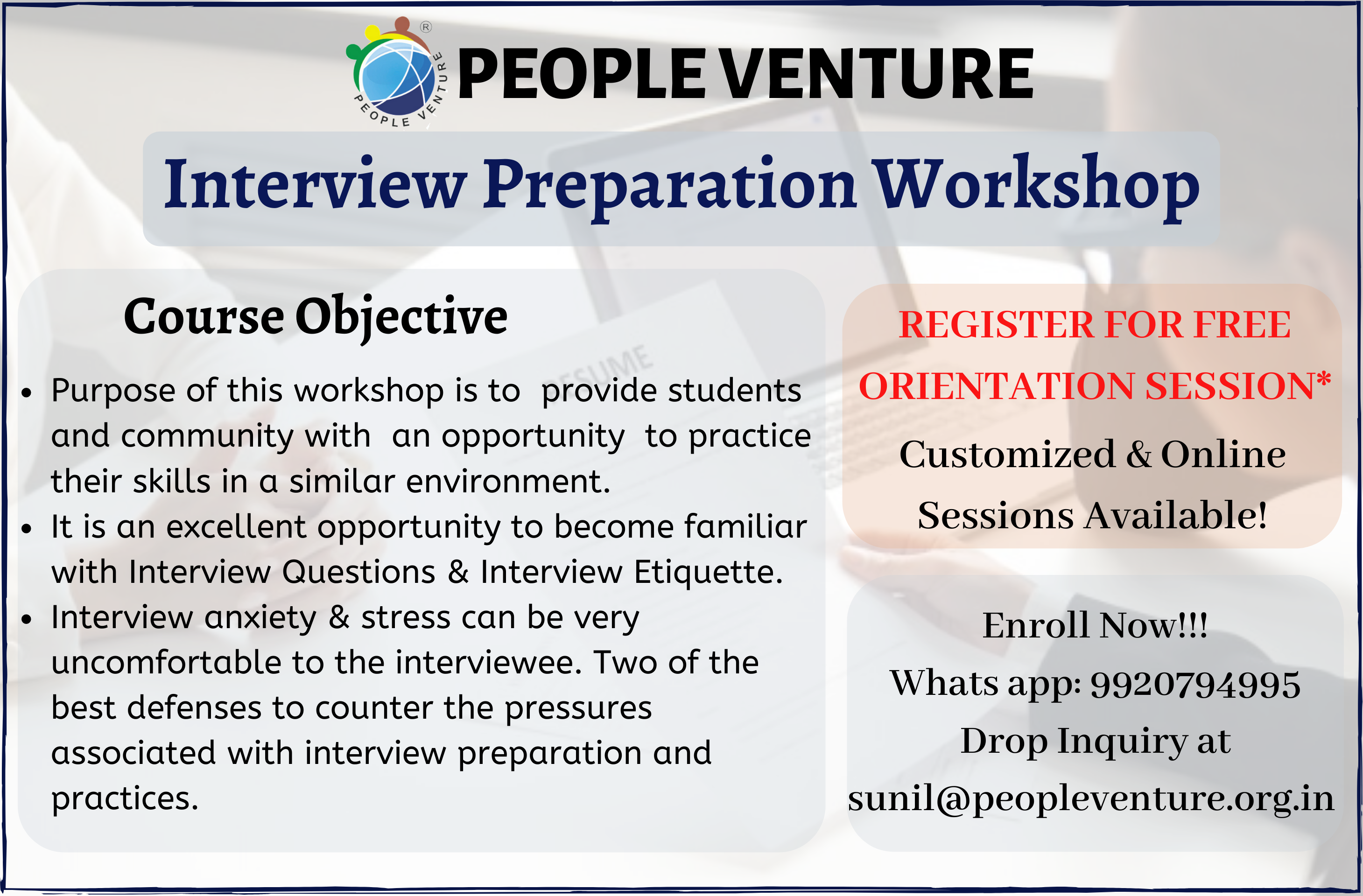 Interview Preparation Workshop in Mumbai